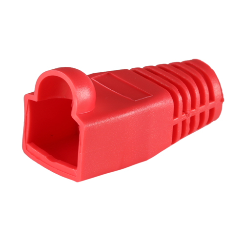 RJ45 Cat6a Boot Red 6.5mm