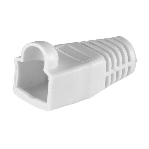 RJ45 Cat6a Boot White 6.5mm