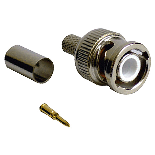 BNC Crimp Plug CT125 Turned