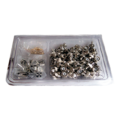 BNC Crimp Plug RG58CU Diecast Handy Pack (100pcs)