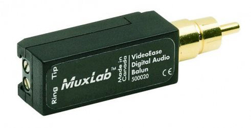 Muxlab Digital Audio Balun
