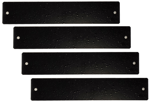 Muxlab Black Filler Plates (4) for 500920