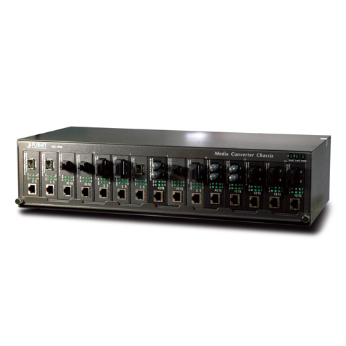 "15 Slot 19"" Media Converter Chassis"