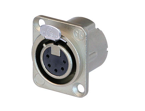 Neutrik XLR 5 Pole Female Receptacle