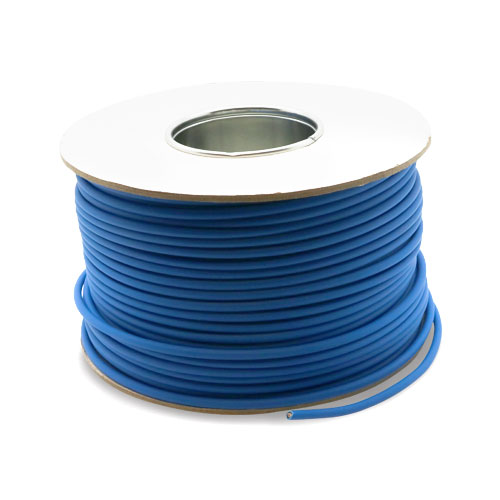 Serial Digital 75Ohm LSOH CPR Eca Coax Cable Blue 100m Reel