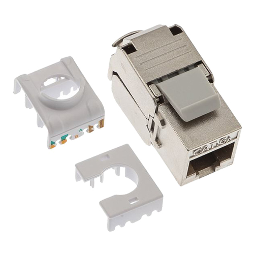 Cat6a Shielded Keystone Jack (PK 25)