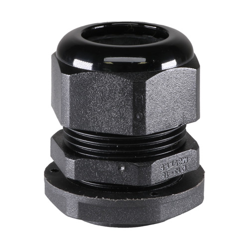 Cable Gland M25 X 1.5 (13mm-18mm) IP68 Black
